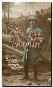Old Postcard Fancy Man Army Soldier