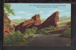 Sinking Titanic,Park of the Red Rocks,CO Postcard