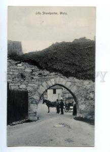 144727 SWEDEN WISBY Visby SLilla Strandporten Vintage postcard