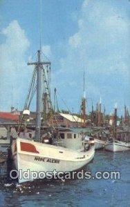 Biloxi Shrimp Boats, Biloxi, Mississippi, MI USA Sailboat Unused
