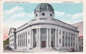 First Baptist Church Tampa Florida The Cigar City