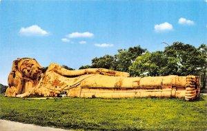 Image of reclining Buddha Ayudhya Thailand Unused