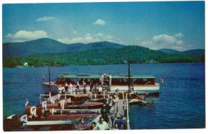 Doris Loading at George & Bliss Landing, Lake Placid NY
