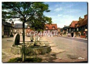Postcard Modern Beuvron in Auge Square Pump