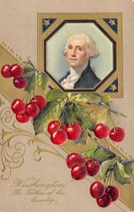 Patriotic~President George Washington~Father Of His Country~Cherries~Winsch