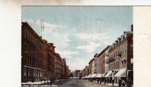 P1855 1905 postcard essex street lawrence mass
