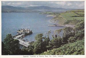Spanish Trawlers at Bantry Bay, CO. CORK,  Ireland, 40-60s