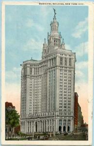 NY - New York City. Municipal Building