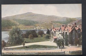 Cumbria Postcard - Prince of Wales Hotel, Grasmere   HM26