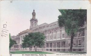 St. Vincent Hospital, Norfolk, Virginia, 1900-1910s