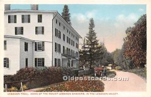 Home of Mount Lebanon Shakers Mt Lebanon NY USA Unused