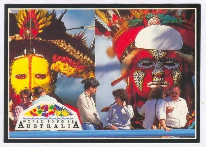 Pupua New Guinea Pavilion, World Expo 1988, Brisbane , Australia