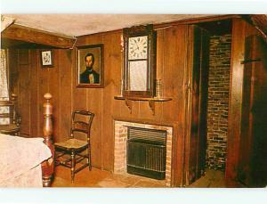 Vintage Post Card Cliffords Room House Sevens Gables Salem  Mass  # 3809