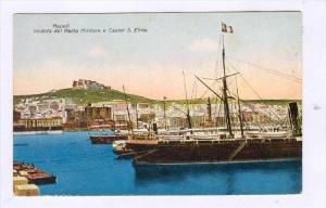 NAPOLI , Veduta del Porto Militare e Castel S. Elmo, 00-10s