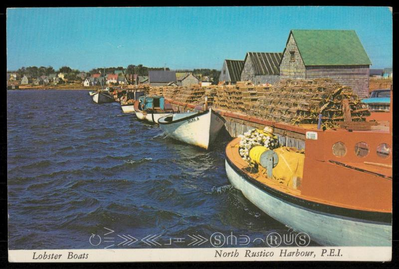 Lobster Boats - North Rustico Harbour, P.E.I.