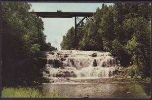 Agate Falls,Agate,MI Postcard BIN