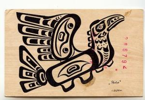 I Hoho - Thunderbird, Indigenous Art, Used 1973