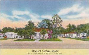 Florida Tampa Wynns Village Tourist Courts