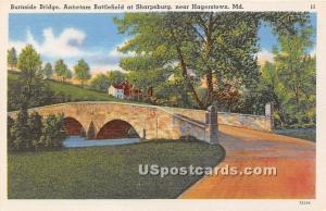 Burnside Bridge, Antietam Battlefield at Sharpsburg Hagerstown MD Unused