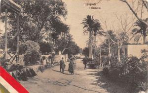 Libya Tripoli I Giardini, Italiana, Garden Jardin 1915