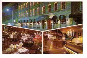 Dinkels Restaurant, Belleville, Ontario, Interior and Exterior Views, Piano