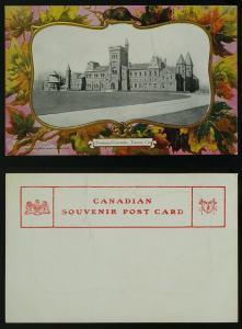 Provincial University Toronto maple patriotic c1900-10