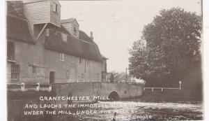 RP; Grantchester Mill, Lyric by Rupert Brooke near Cambridge, Cambridgeshire,...