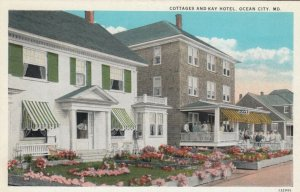 OCEAN CITY, Maryland, 1900-10s; Cottages and Kay Hotel
