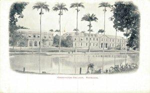Barbados Codrington College Vintage Postcard 07.32