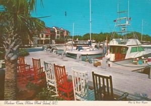 South Carolina Hilton Head Island Harbour Town Marina 1975