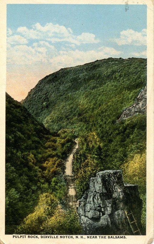 NH - Dixville Notch. Pulpit Rock