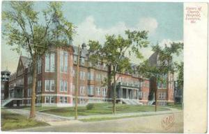 Sisters of Charity Hospital, Lewiston, Maine, ME, UNDivided Back