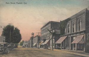 PARKHILL , Ontario , 1900-10s ; Main Street