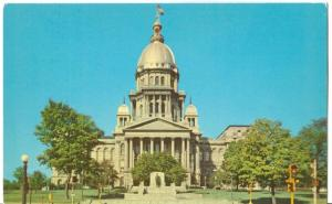 Illinois State Capitol, Springfield Illinois unused Postcard