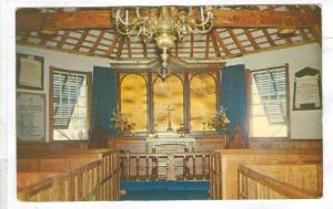 Interior, St. Peter's Church, St. George's, Bermuda, 1940-1960s