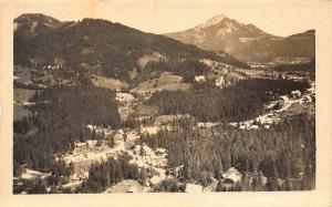 Slovenia Jezersko Yugoslavia Village Forest Panoramic view Postcard