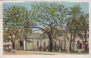 Trinity Episcopal Church Saint Augustine Florida 1938