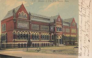 Museum of Fine Arts , BOSTON , Massachusetts , PU-1907