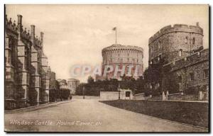 Great Britain Great britain Old Postcard Windsor castle Round Tower