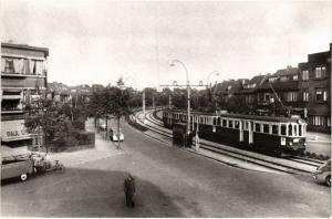 CPA Voorburg, Parkweg N.Z.H. Tram. NETHERLANDS (714229)