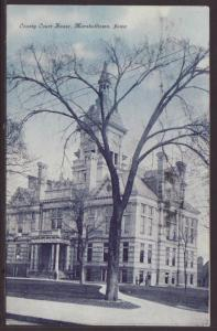 County Court House,Marshalltown,IA Postcard