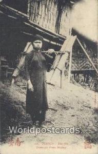 Vietnam, Viet Nam,  Nhân Vật Tonkin Bao Ha, Porteuse d'eau Musny