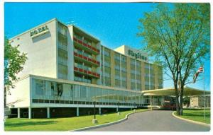 Exterior,  Skyline Brockville Hotel,  Brockville, Ontario,  Canada,  40-60s