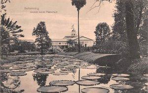 Gezicht Lands Plantentuin Buitenzorg Indonesia, Republik Indonesia Unused