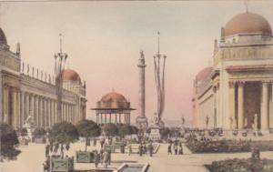 Court Of The Universe Panama-Pacific International Expo 1915 San Francisco Al...