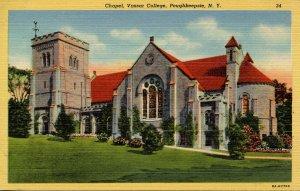 NY - Poughkeepsie. Vassar College, Chapel