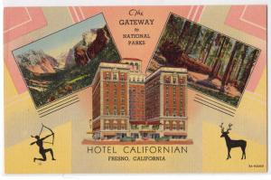 Hotel Californian Fresno CA