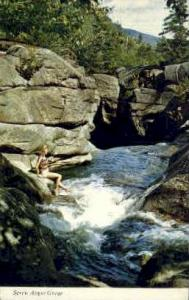 Screw Auger Gorge Grafton Notch ME Postal used unknown