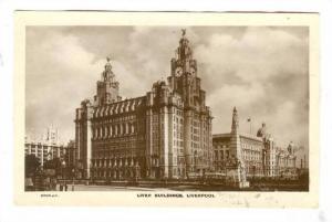 RP, Liver Building, Liverpool (Lancashire), England, UK, 1920-1940s