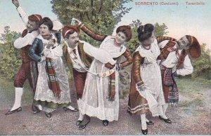 Italy Sorrento Costumi Tarantella